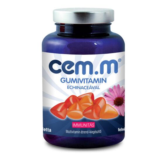 Walmark CEM-M Gummi Echinacea multivitamin tablett 60x