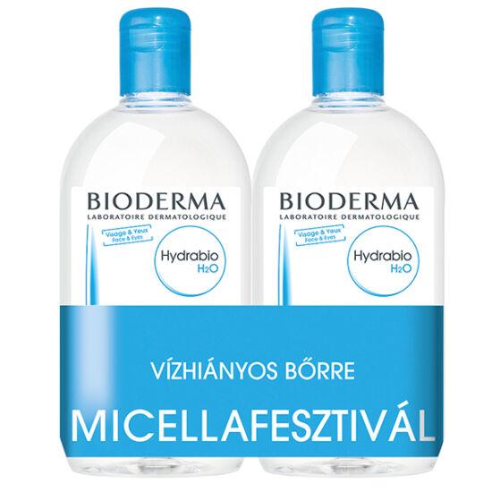 BIODERMA Hydrabio H2O arclemosó DUO 2x500ml