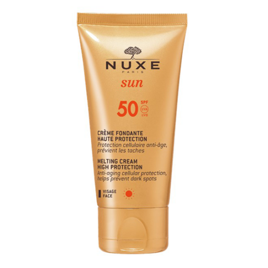 Nuxe Sun napkrém arcra SPF50