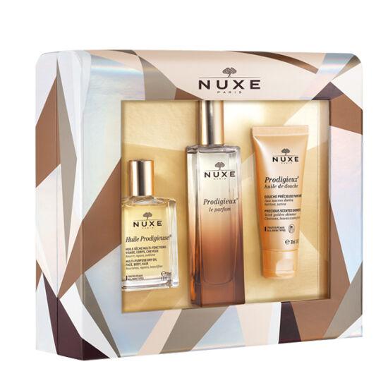 Nuxe Prodigieux karácsonyi parfüm szett 50ml+30ml+30ml