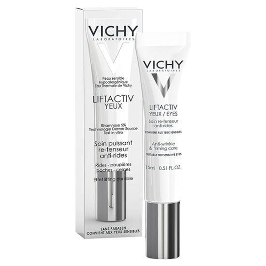 Vichy Liftactiv ránctalanító és feszességet adó ápoló szemkörnyékre (15ml)