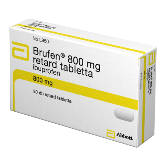 Brufen 800 mg retard tabletta (30x)