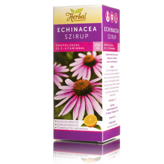 Innopharm Herbál Echinacea szirup propol.+C-vitam. (150ml)