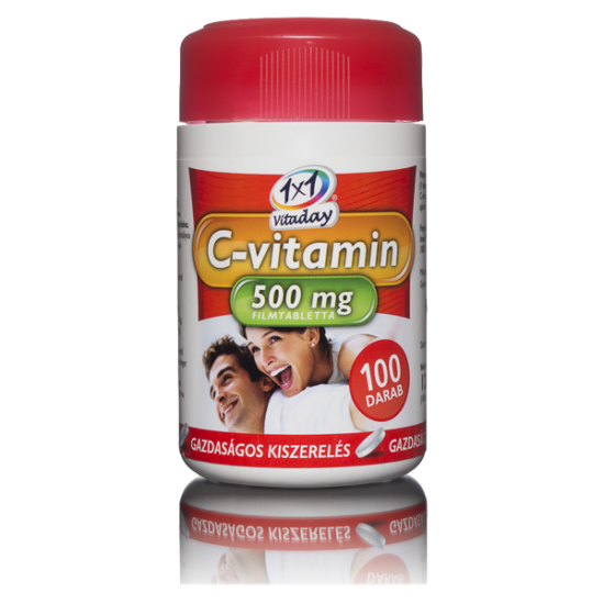 1x1 Vitaday C-vitamin  500 mg filmtabletta (100x)