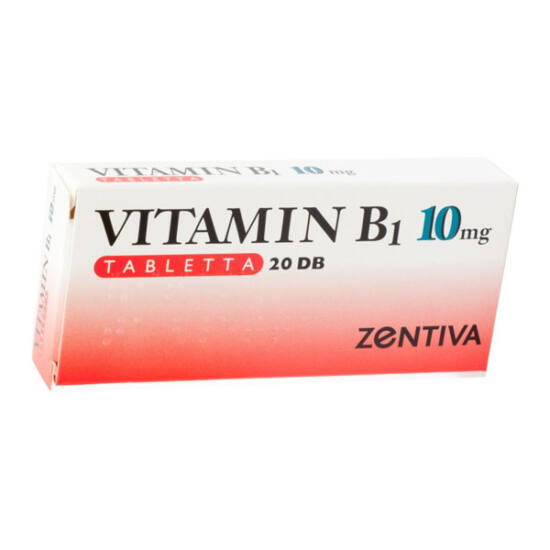 Vitamin B1-Zentiva 10 mg tabletta (20x)