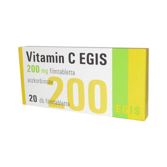 Vitamin C  EGIS 200 mg filmtabletta (20x)