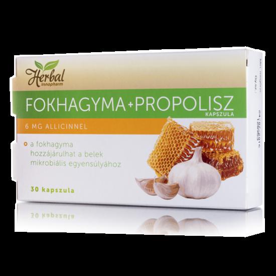 Innopharm Herbál Fokhagyma + propolisz kapszula (30x)