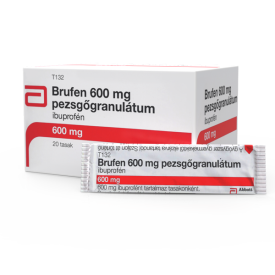 Brufen 600 mg pezsg?granulátum (20x)