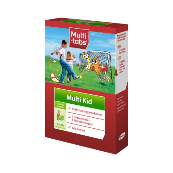 Multi-Tabs Multi Kid rágótabletta Cola-lime (30x)