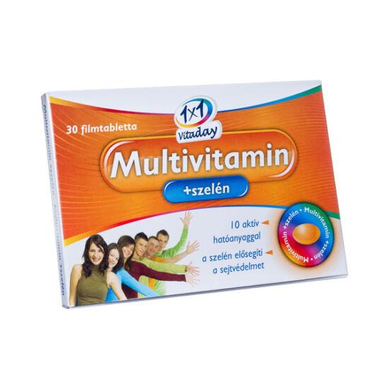 1x1 Multivitamin+szelén tabletta (30x)