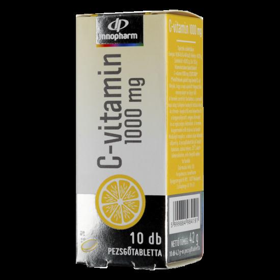 Innopharm C-vitamin 1000 mg pezsg?tabletta vérnara (10x)