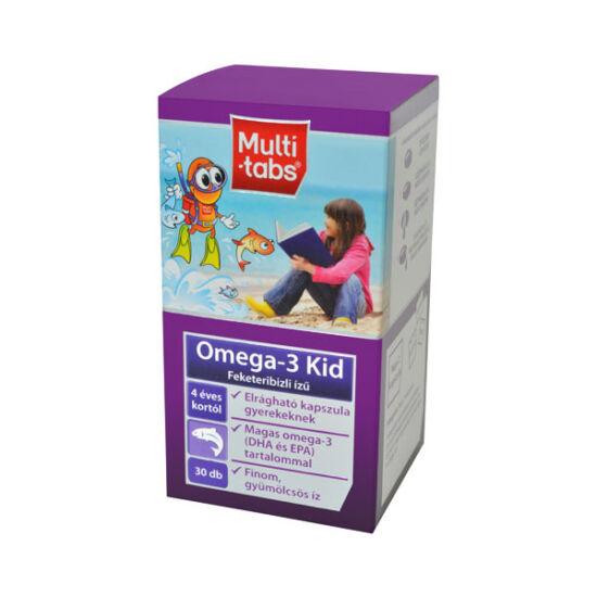 Multi-Tabs Kid Omega-3 halolaj kapszula (30x)