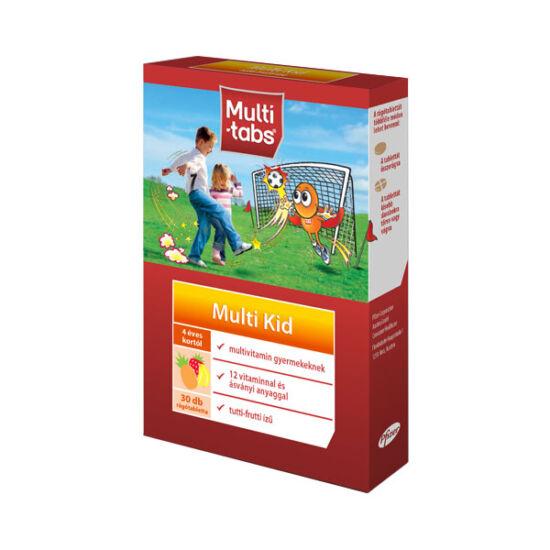 Multi-Tabs Multi Kid rágótabletta Tutti-Frutti (30x)