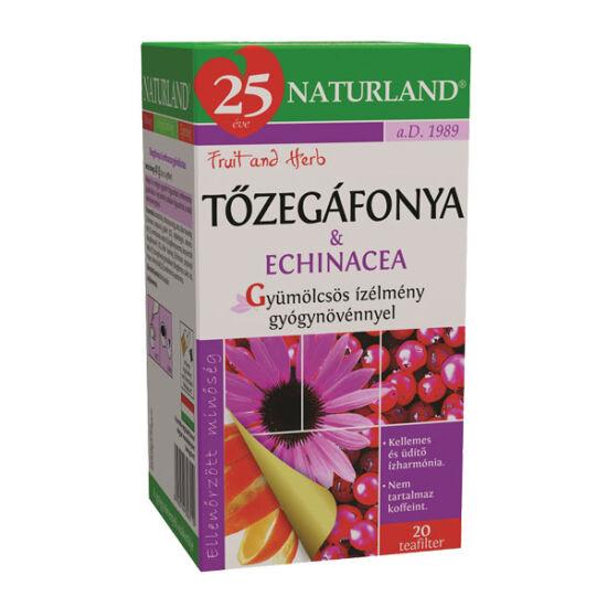 Naturland gyümölcstea T?zegáfonyával és echinacia. (20x2g)