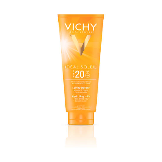 Vichy Idéal Soleil családi naptej FF20 (300ml)