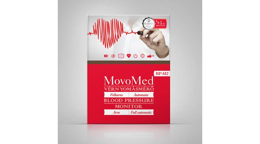 Vérnyomásmérő automata felkaros - Movo-Med BP-M2